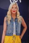 Tori Spelling attends Inside Out Premiere