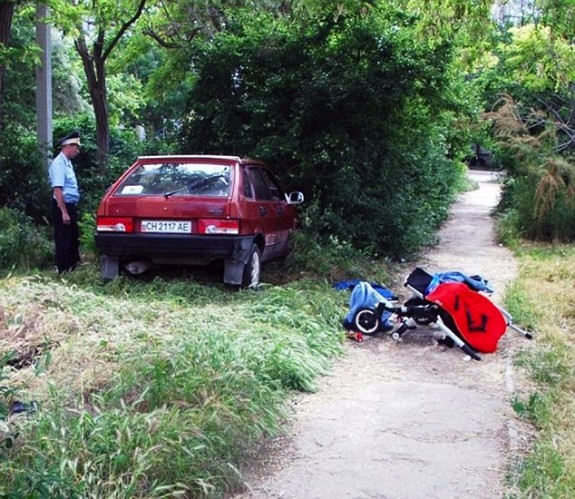 Twin Babies Run Down In Their Stroller By Drunk Driver