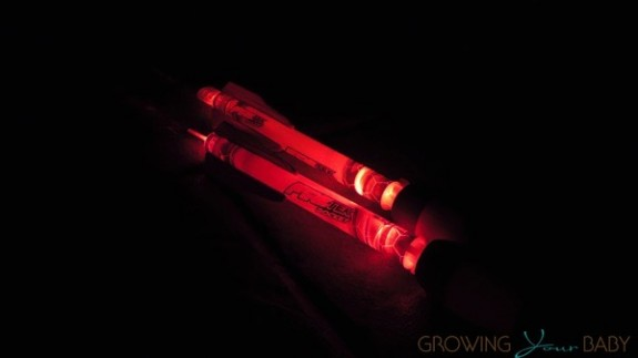 ZING Firetek rocket glow in the dark missiles