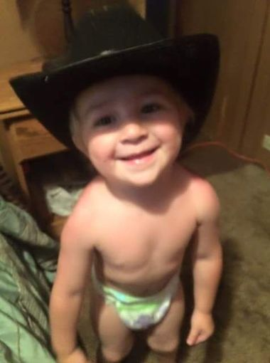 2 year-old DeOrr Kunz Jr