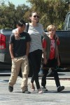 Angelina Jolie at Toys R Us With Kids Shiloh and Pax
