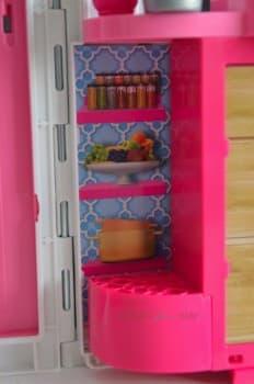 Barbie's GLAM Getaway House - more storage