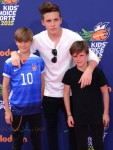 Brooklyn, Romeo and Cruz at the  2015 Nickelodeon Kid's Choice Sports Awards