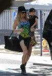 Fergie Steps Out With Her Son, Axl Jack Duhamel