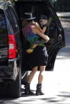 Fergie out in LA with son Axl Duhamel