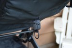 GB Qbit Stroller - seat recline tether
