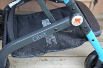 GB Qbit Stroller - stroller storage