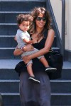 Halle Berry leaves Westfield Mall in Century City with son Maceo