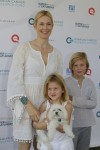 Kelly Rutherford at Super Saturday with kids Helena & Hermes Giersch