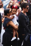 Kim Kardashian and North West at Disneyland for Penelope's birthday