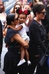 Kim Kardashian and North West at Disneyland for Penelope's birthday