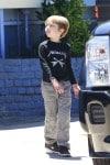 Knox Jolie Pitt at his birthday party