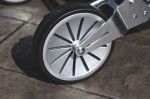 Mamas & Papas Signature Edition Chestnut Tweed Urbo² - wheels