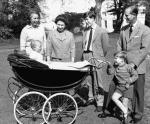 Millson Pram Prince Edward & Prince Andrew