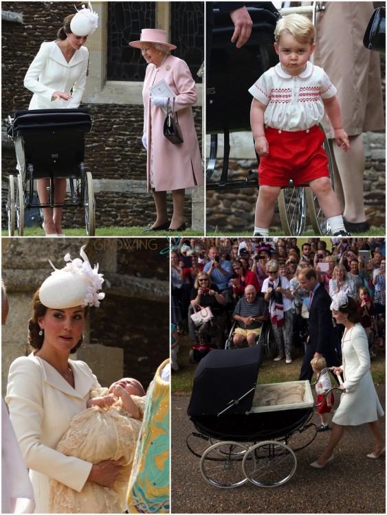 Princess Charlotte is Christened!