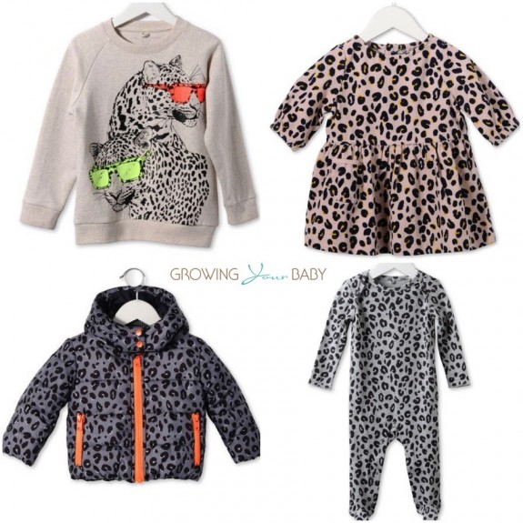 Stella McCartney kids Leopard Print