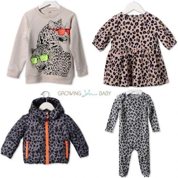 Stella McCartney kids Leopard Print