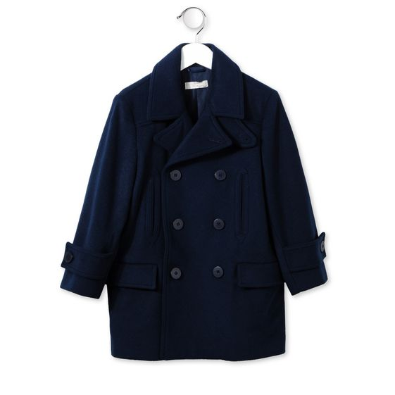 Stella Mccartney Midnight Rocco coat
