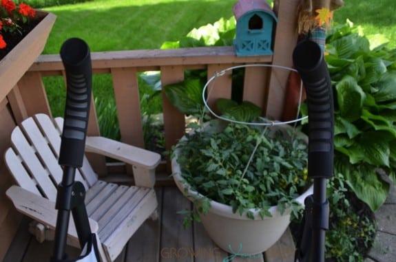Summer Infant 3DFlip Convenience Stroller - handles