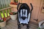 Summer Infant 3DFlip Convenience Stroller - rear facing
