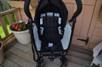 Summer Infant 3DFlip Convenience Stroller - with storage basket flap up