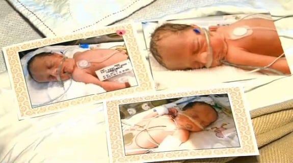 The Strandt triplets