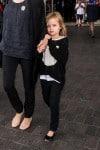 Vivian Jolie-Pitt exits LAX with her Mom
