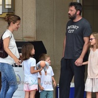 Ben Affleck and Jennifer Garner Step Out As A Family in Georgia