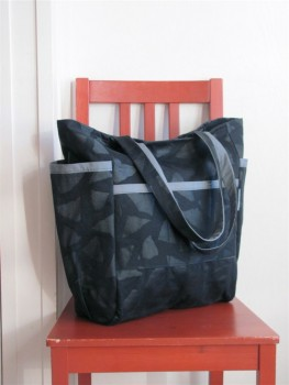 Big City Cool Weekender - Vintage Black Upholstery Canvas - Diaper Bag