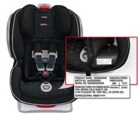 Britax Issues Voluntary Safety Recall On Certain ClickTight model Convertible Car Seats
