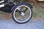 """Bugaboo Runner Jogging Stroller - back 16"""" wheel"""