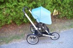 Bugaboo Runner Jogging Stroller - forward facing full canopy