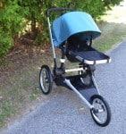 Bugaboo Runner Jogging Stroller - forward facing fully reclined