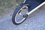"Bugaboo Runner Jogging Stroller - front 14"" fixed wheel"
