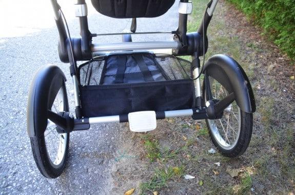 Bugaboo Runner Jogging Stroller - storage basket