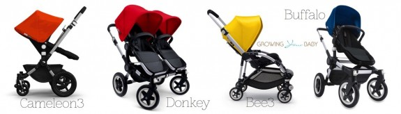 Bugaboo seats that are compatible with Bugaboo Runner Frame