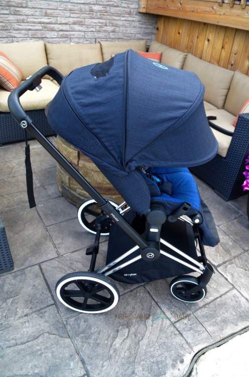 CYBEX Priam Stroller - canopy extended