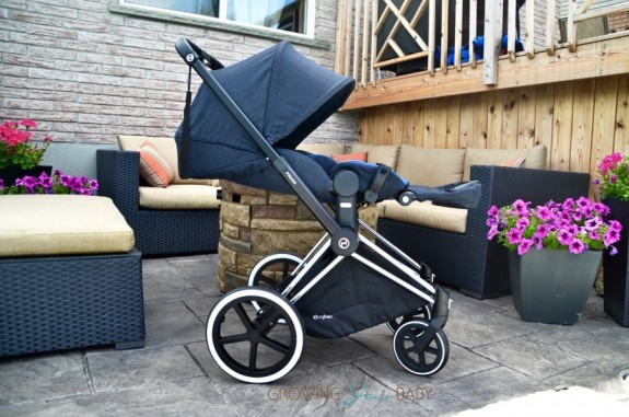 CYBEX Priam Stroller - flat recline position