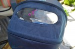 CYBEX Priam Stroller - peek a boo window