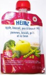 Heinz  Apple, broccoli, pea & brown rice