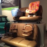 Henry Ford Museum - Car seat evolution