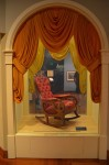 Henry Ford Museum - The Chair Lincoln was sitting in when he was assassinated