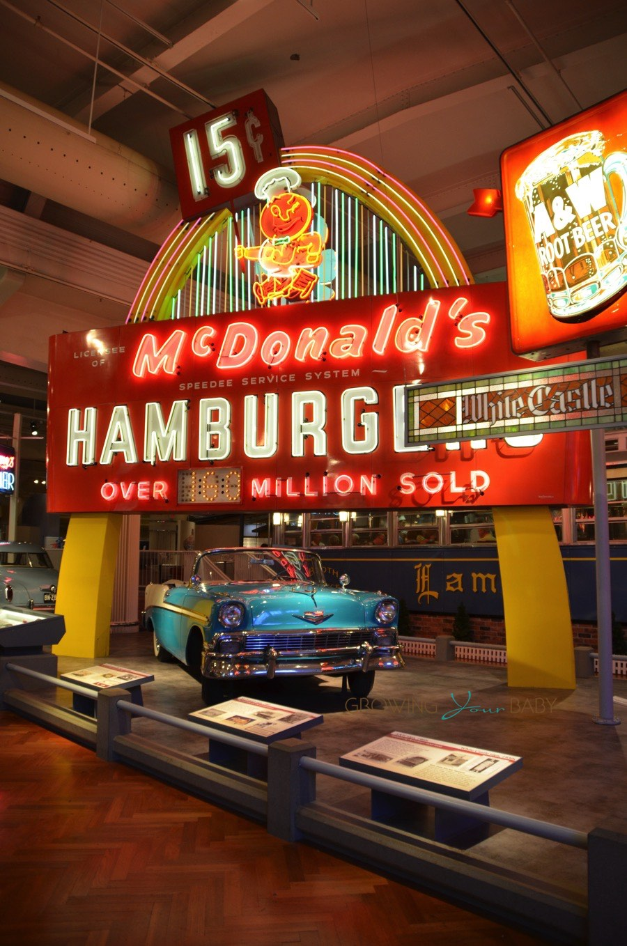 Henry Ford Museum Vintage Mcdonalds Sign Growing Your Baby