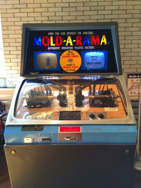 Henry Ford Museum - mold-a-rama machine