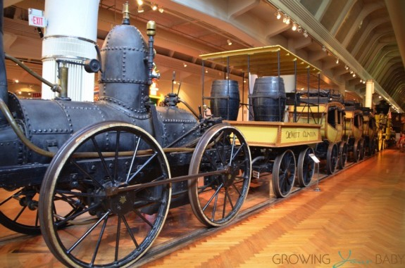 Henry Ford Museum - reproduction of America's 3rd Steam-Operated Train - The DeWitt Clinton