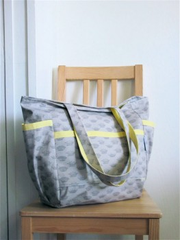 Her Royal Majesty Upcycled Weekender