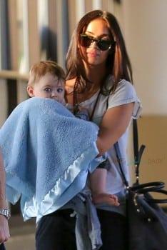 Megan Fox With Son Bodhi