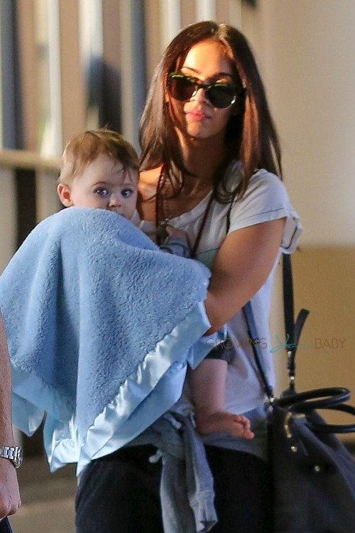 Megan Fox With Son Bodhi