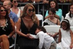 Moroccan Cannon with his mom Mariah Carey at her Hollywood Walk of Fame Ceremony