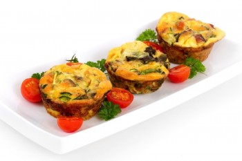 Muffin omelet